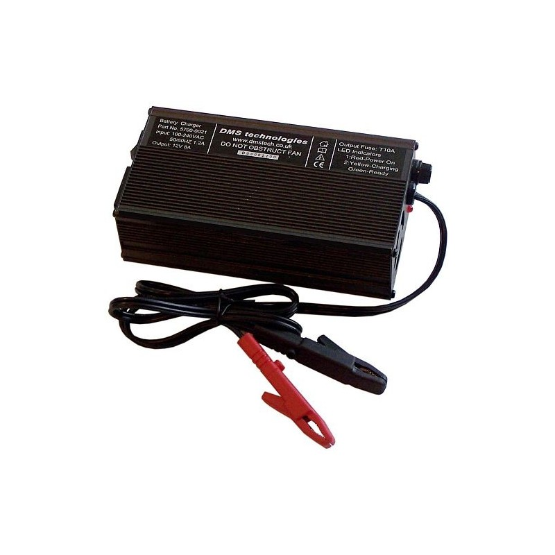 8A Three Stage Racing Battery Charger