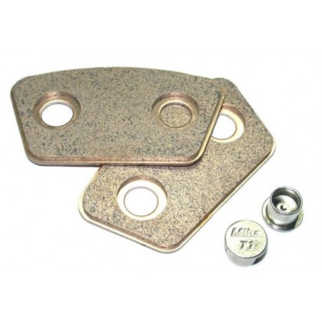 Placchette in rame 3,6mm