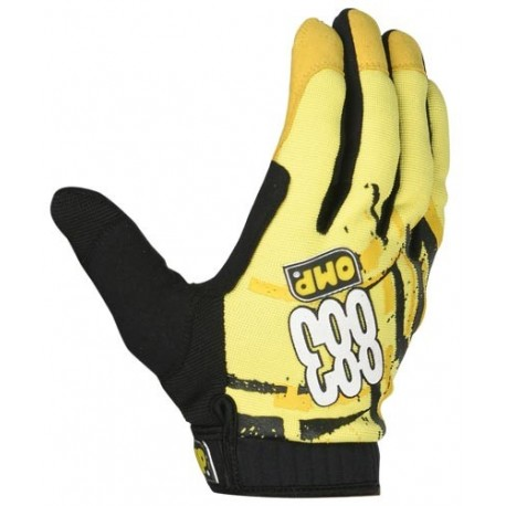 Omp 883 gloves yellow/M
