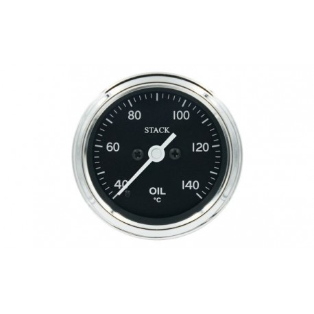 Stack Professional Oil Temperature Gauge (40-140°C) - black - CL